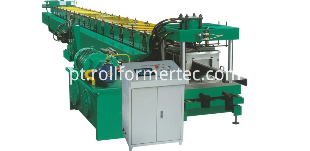 steel purlin profiles roll forming machine