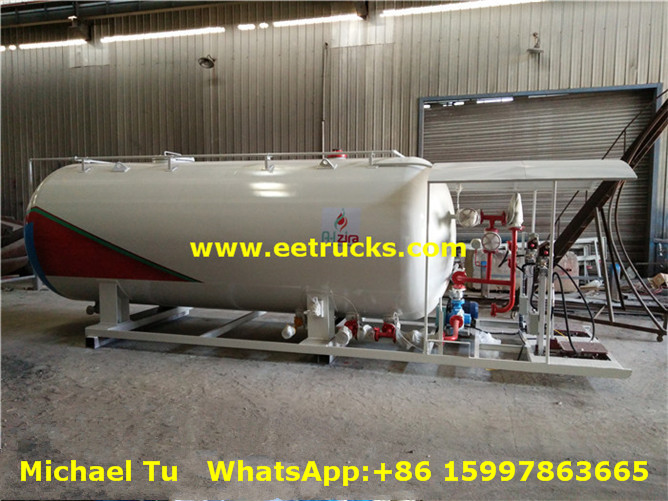 4000 Gallons 6ton Mobile Propane Skid Plants