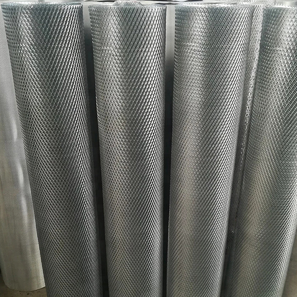 Diamond Hole Expanded Metal filter Mesh