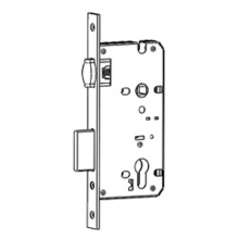 China for China Roller Latch Mortise Lock,Latch Mortise Lock,Roller Latch European Mortise Lock Manufacturer Roller latch mortise lock with deadbolts export to South Korea Wholesale