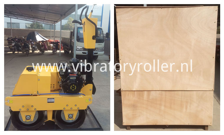 double drum vibration roller package