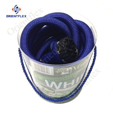 75 ft blue flexible garden extendable hose