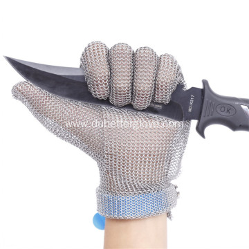 Stainless Steel Mesh Cut Resistant Gloves