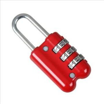 red 3 yards combination lock