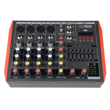 Digital light mixing console professional audio mixer