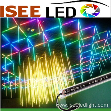 DMX 16pixels double sided rgb led 3d tube