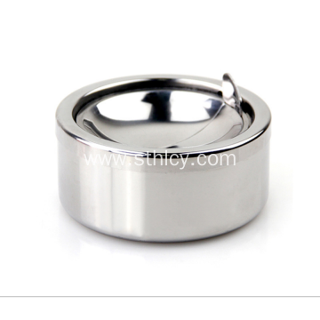 Round Windproof Stainless Steel Ashtray