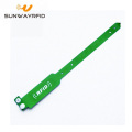 Rewritable UHF PVC RFID Wristband Tag
