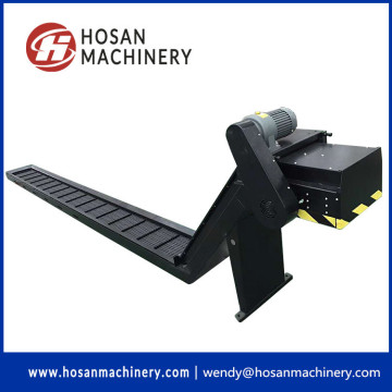 Scraped type chip conveyor machine chips remover