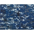 CVC Navy Camouflage Fabric for Middle East