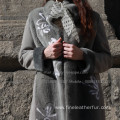 Lady Winter Overcoat For Spain Merino Shearling
