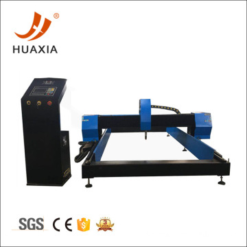Thick plate cnc plasma cutting machine with flame