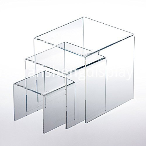 acrylic jewelry display risers