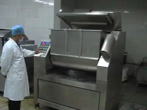 Vacuum dough mixer 300 operation