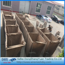 Hot dip galvanized Hesco Barriers for Sale
