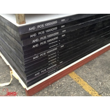 Wholesale Distributors for Pc Plate Black Color Extruded Polycarbonate Solid Sheet supply to Puerto Rico Exporter