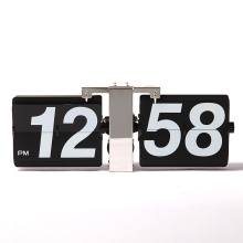 Cheapest Factory for Clock Wall Decoration Flip Wall Clock with Large Numbers supply to Saint Kitts and Nevis Supplier