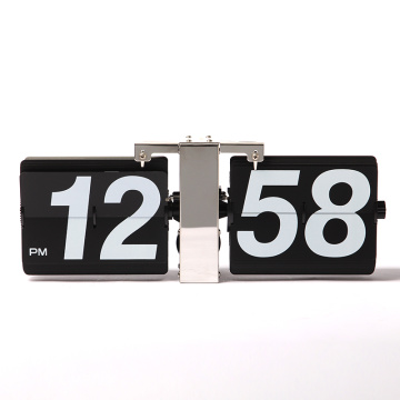 Leading for Wall Hanging Clock Flip Wall Clock with Large Numbers export to Ireland Supplier