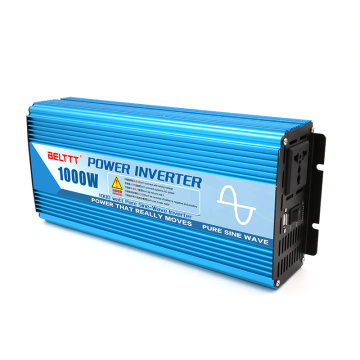 1000W 12VDC to 110VAC Pure Sine Wave Inverter