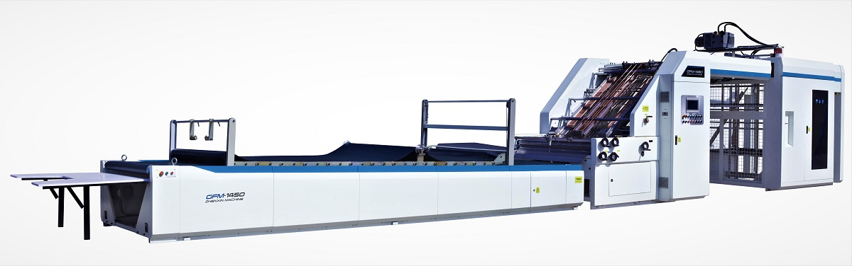 ZGFM Automatic flute laminating machine