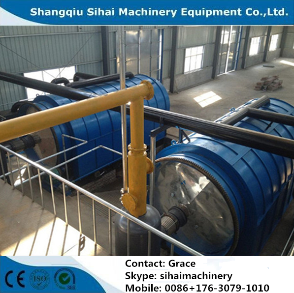 waste material recycling to furnace oil machine