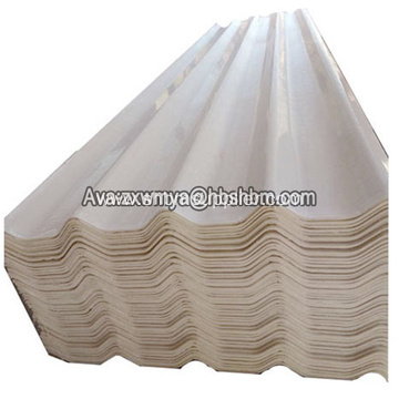 High Strength Non-asbestos Low-price MgO Glazed Roof Tiles