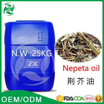 Top Grade Organic Nepeta oil Unfiltered Print Llabel