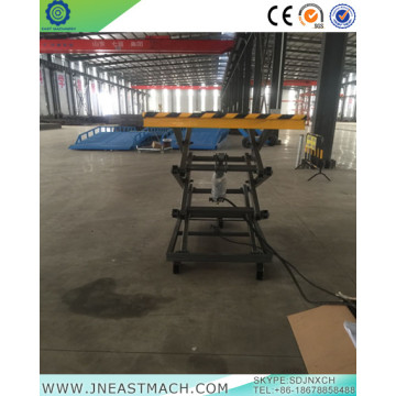 2.0t Fixed CE Manual Hydraulic Scissor Lift Platform