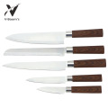 High Quality Kitchen Knives With Wood Pattern Handle