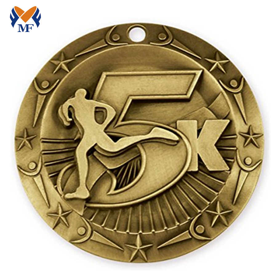 5k Fun Run Medal