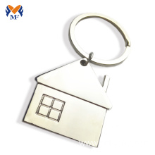 10 Years for Custom Logo Keychains Metal cheap price house shape keychain export to Ireland Wholesale