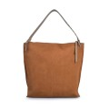 Fashion Ladies Suede Leather Handbags Hobo Bag Top-handle