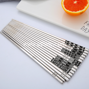 Stainless Steel Household Gift Chopsticks