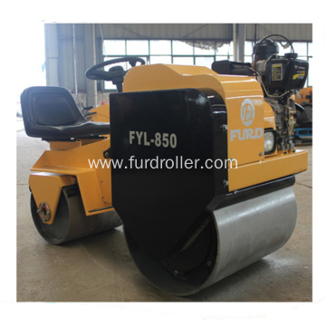 Ride-on Hydrostatic Type Double Drum Roller Compactor