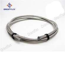 teflon stainless steel braided tube