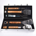 5PCS Stainless Steel BBQ Tools Set with Box