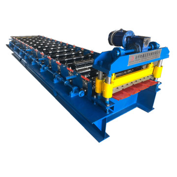 Trapezoidal aluminum roofing sheet making machine