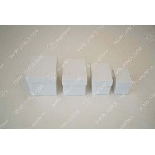 Wholesale white rectangular candy gift box