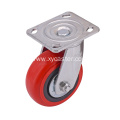Swivel 5 Inch PVC Caster without Stopper