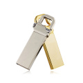 Metal Hook Mini Stainless Steel waterproof keychain usb