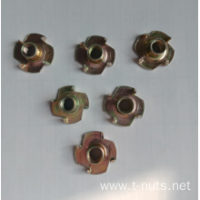Yellow Zinc Plated Carbon Steel Standard T-Nuts
