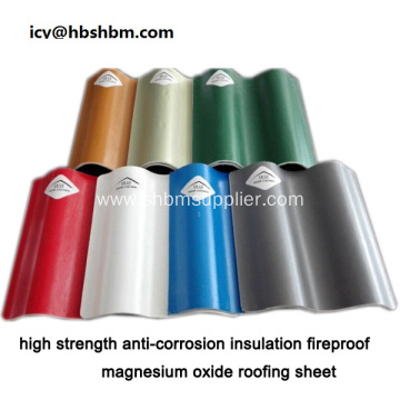 MGO Roofing Sheet Better Than UPVC Roofing Sheet