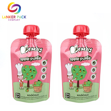 FDA Commitent Reusable Baby Food Pouches BPA Free