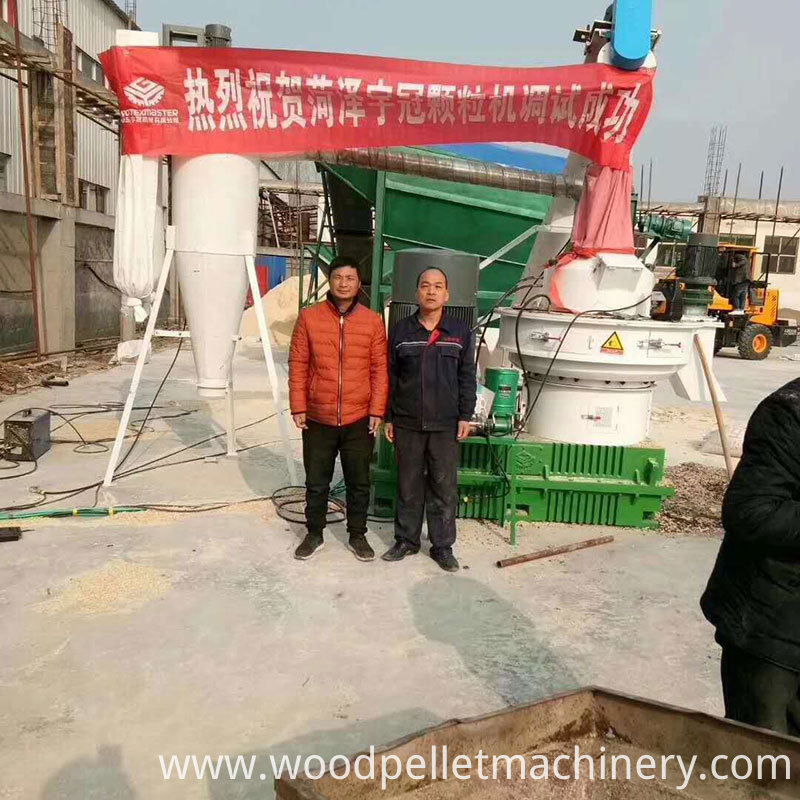 new biomass pellet mill