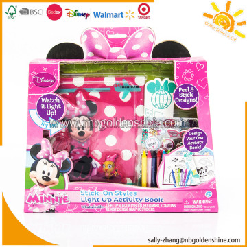Minnie Design Your Own Activity Book