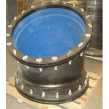 Ductile iron double flange bend
