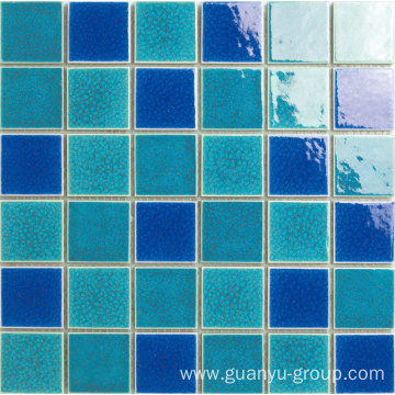 SWIMMING POOL GLAZED MOSAIC