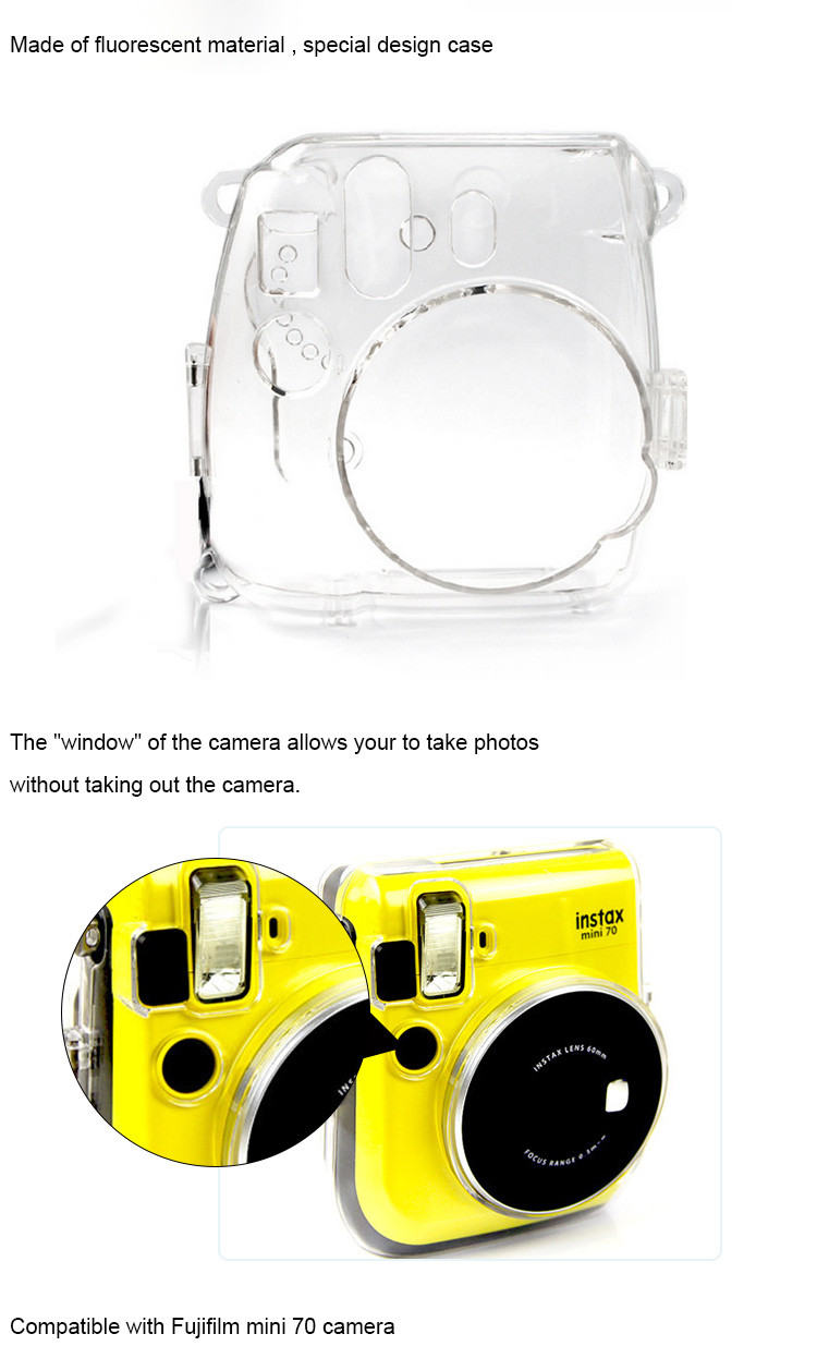 Transparent Camera Case
