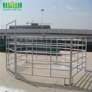 Hot Dip Galvanized  Steel Farm Horse Fence