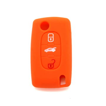 Peugeot silicone car key cover compre on-line